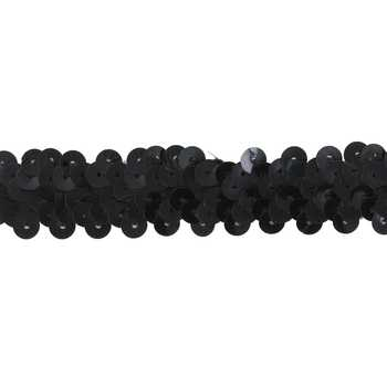 Double Row Stretch Sequin Trim - 7/8""